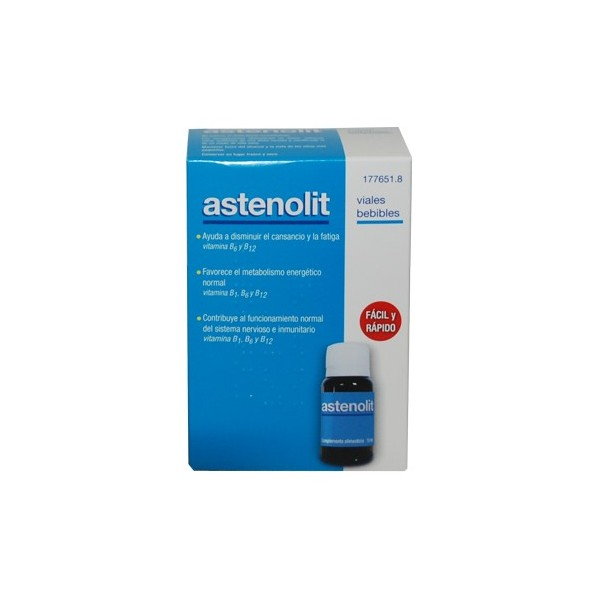 Astenolit 12 viales bebibles 10 ml