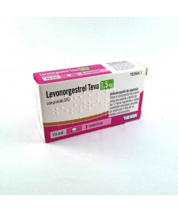 Levonorgestrel teva 1.5 mg 1 comp