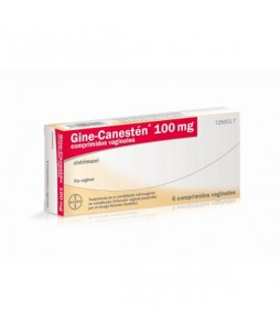 Gine canesten 100 mg 6 comp vaginales