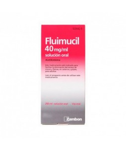 Fluimucil 40 Mg/Ml